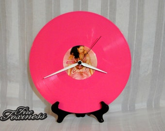 Foxy Brown Record Clock