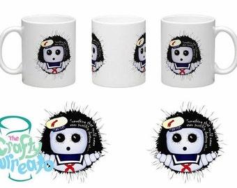 Ghostbusters inspired Stay Puft Marshmallow Man 11oz  mug. Halloween fun!