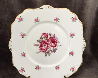 Royal Stafford tudor rose sandwich plate