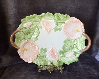 Vintage Hummingbird tray plate platter by FF Floyd and Fitz