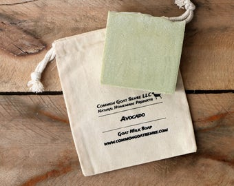 Avocado Goat Milk Soap