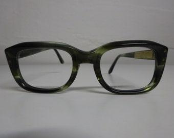 Vintage Children's Shuron Buddy Holly Style Eyeglass Frames, Rockabilly Eyeglasses, Mad Men eyeglass Frames  - FREE SHIPPING