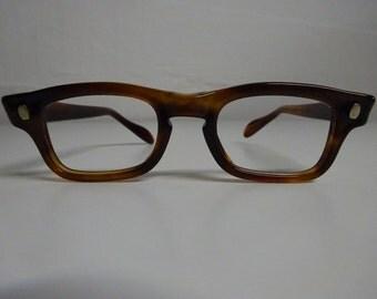 Vintage Children's Swan Buddy Holly Style Eyeglass Frames, Rockabilly Eyeglasses, Mad Men Ekyeglass Frames  - FREE SHIPPING
