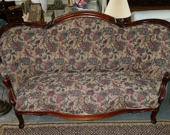 Old Fashioned Hickory Sofa Love Seat