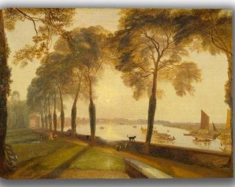 J.M.W. Turner: Mortlake Terrace. Fine Art Canvas. (04148)