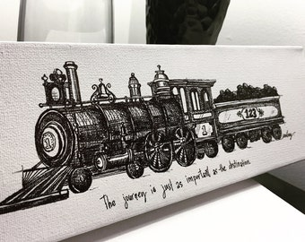 Train 2- The Journey fine art print