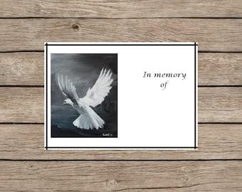 Memoriam art print etsy for In memoriam cards template