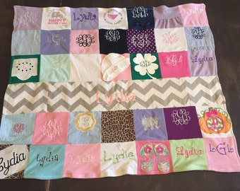 Tshirt Blanket for Babies