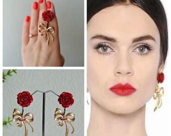Earrings Dolce Gabbana style -  Yoke