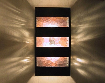 Contemporary Wall Sconce | Up and Down Wall Light | Made in Austin, TX | Exterior Lighting | Modern Entry Light | Custom Lighting
