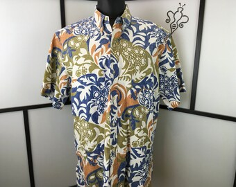 Men's  Hawaiian Shirt, XXL