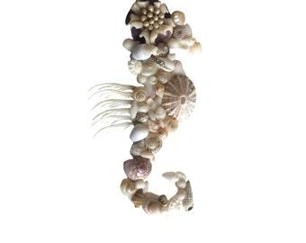 Seahorse Shell Ornament