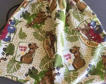 Scooby Doo Library Bag, Swim Bag, etc