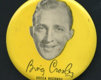 1940's Decca Records Bing Crosby Record Cleaner Rare Find See Scan