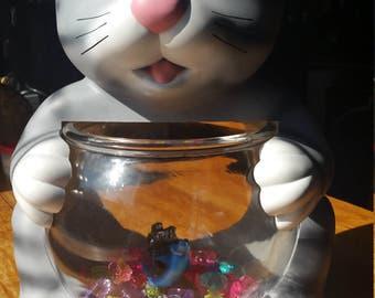 Vintage Adorable Aquanimal Fishbowl