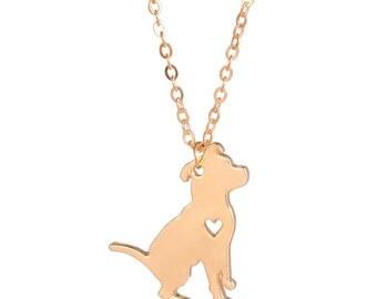 Petite Pit Bull Necklace
