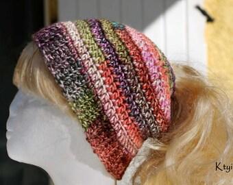 Messy Bun Beanie - Bonnet cheveux en chignon