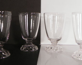 Fostoria American Lady Juice Glass Goblet (s) LOT OF 4 Clear 5056