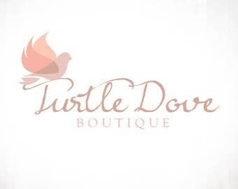 Premade Logo Design • Dove Bird