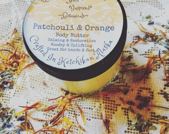 Patchouli and Orange body butter