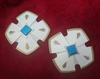 CyberDimension Neptunia Cosplay Hair Clips Pair