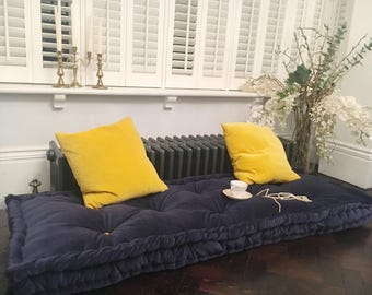 Velvet Floor Cushion Mattress,Tufted Cushion, Futon Cushion, Knotting Pillow  Quilt, French Part 52