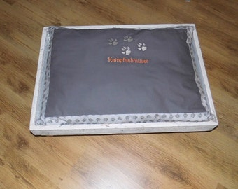 Dog cat bed with Pillow Shabby Chic