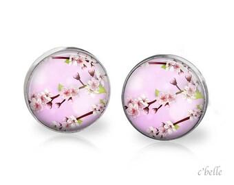 Earrings cherry blossoms 73