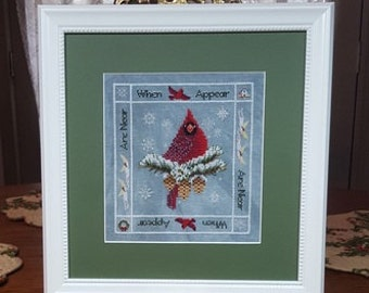 """BLACKBERRY LANE DESIGNS """"When Cardinals Appear"""" 