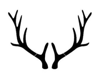 deer antler/svg/cricut