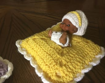 Doll Baby Crocheted