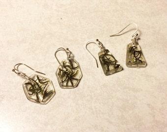 Forest Floor Geometric Earrings