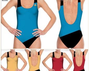 Swimsuit Star Trek - Starfleet Uniform