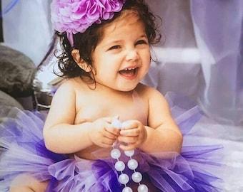 Purple and lilac Tutu, Purple Tutu, Preemie, Newborn to 14/16 teen, Baby Tutu, Birthday tutu, newborn tutu, photo prop, preemie tutu
