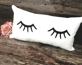 Eyelashes Pillow Eyelashes Eyelash Decor Eyelashes