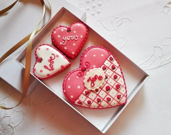 Personalised Love You Cookie Box