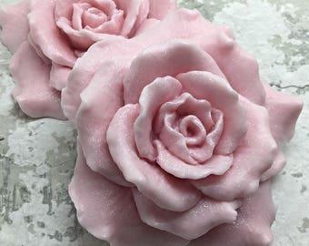12 Rose Soap , Favor , Glycerin Soap , Rose Shaped Soap , Party Favor , Wedding Favor , Bridal Shower Favor , Baby Shower Favors