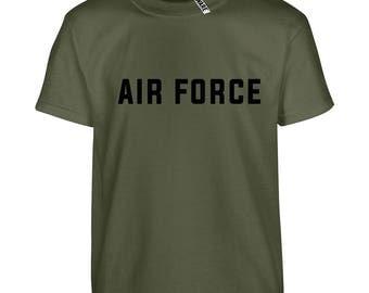 Air Force USAF RAF Mens Cotton Ryware T-Shirt