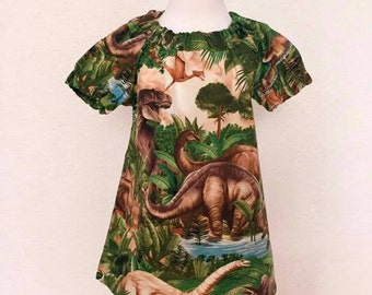 T-Rex Swing Dress