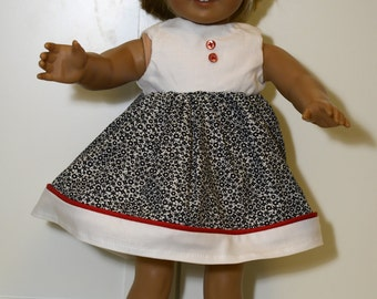 Sleeveless Dress for 18 Inch Doll