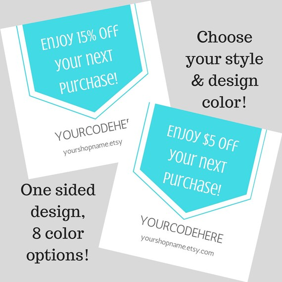 Square COUPON CODE Thank You cards, Thank you coupon, Coupon code ...