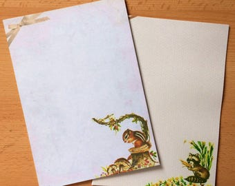 Vintage Inspired Woodland Cuties Stationery