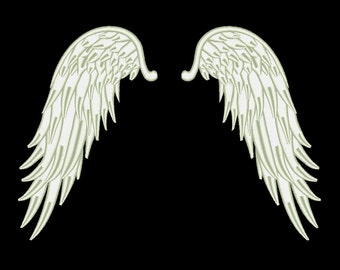 Angel Wings Embroidery Design Angel Embroidery Designs Machine Embroidery Designs 9 Size - INSTANT DOWNLOAD
