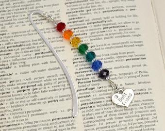 Best Friend Bookmark, Best Friend Birthday Gift, Beaded Bookmark, Best Friend Thank You Gift, Gift for Best Friend, Best Friend Gift