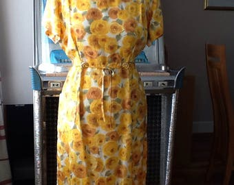 Vintage early 60s PinUp Dress.