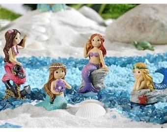 Sea Life Mermaids Set of 4