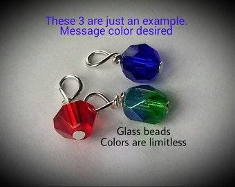 Add on glass beads for AlumebyBonnie bracelets