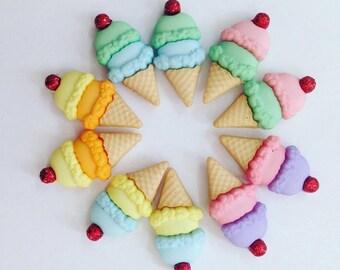 Double Dipp Ice Cream Earrings