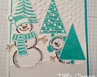 Snowman Hide & Seek Card