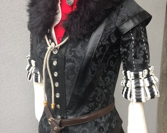 Yennefer the witcher 3 wild hunt cosplay costume